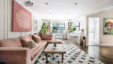 Manhattan apartment.