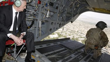 James Mattis in Afghanistan.