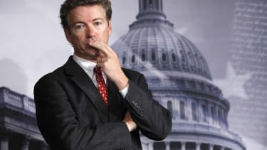 Although Rand Paul's presidential campaigning days are probably over, he still has a lot of work to do.