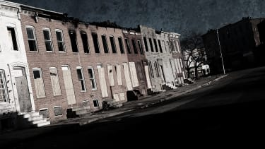 A street in Baltimore.