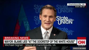 Charlottesville Mayor Mike Signer