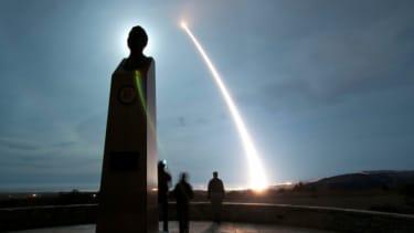 Test ballistic missile launch