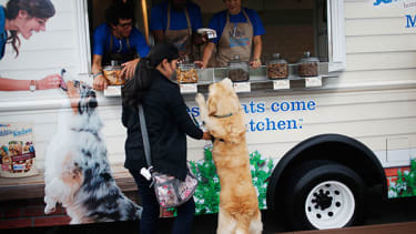 We've reached peak food truck: Dogs can now visit a 'treat truck'