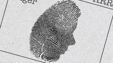A fingerprint.