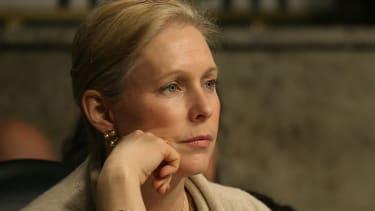 New York senator slams her Vermont colleague.