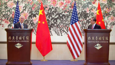 Secretary of State Rex Tillerson in China