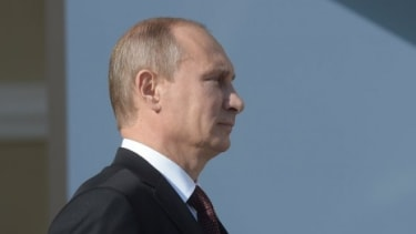Maybe this whole Syria gambit won't work out for Russian President Vladimir Putin after all.