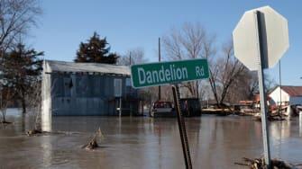 Flooding in Craig, Missouri.