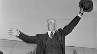 President Eisenhower in 1956