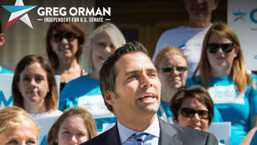 Kansas independent candidate Orman: I could switch my party vote in the Senate