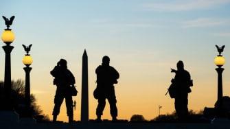 National Guard members in D.C.