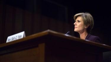 Sally Yates testifies before the Senate Judiciary subcommittee