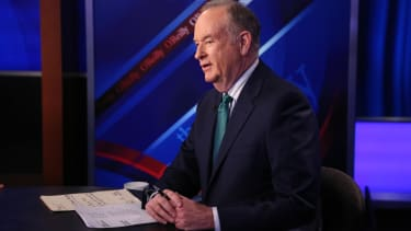 Bill O'Reilly on his Fox show