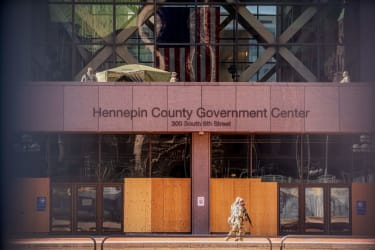 Hennepin County Government Center.