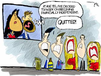 Political Cartoon U.S. Prince Harry Meghan Markle Megxit Trump