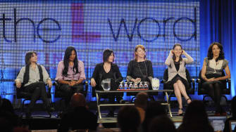 The L Word cast.