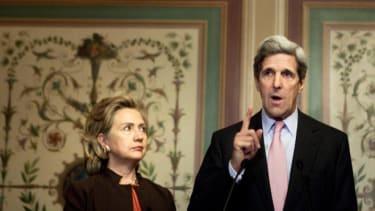 Clinton versus Kerry