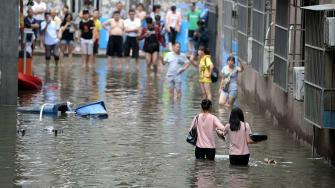 Flooding in Beijing