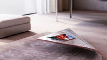 The rug/coffee table hybrid
