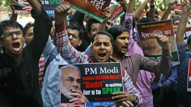 India Modi Protest