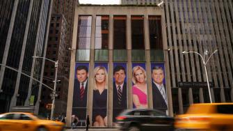 Fox News headquarters in Manhattan