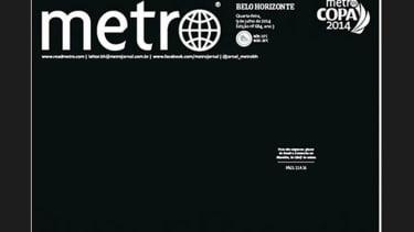 This heartbreakingly minimal Brazilian front page perfectly sums up Germany's World Cup rout