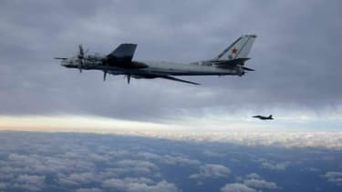 Russian bomber jets came within 50 miles of California coast