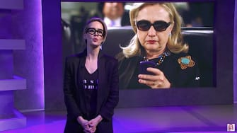 Sarah Paulson performs Hillary Clinton's emails