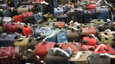 U.S. airlines raked in billions in baggage fees in 2010, with Delta leading the pack with $952 million.