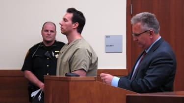 William Husel in court on Wednesday.