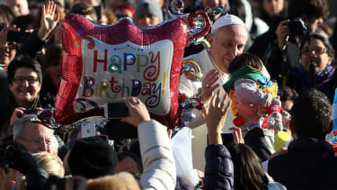 Pope Francis celebrates his birthday with tango dancing