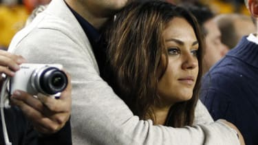 Mila Kunis and Ashton Kutcher are expecting their first child