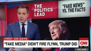 Jake Tapper schools Trump on leaks, conspiracy theories