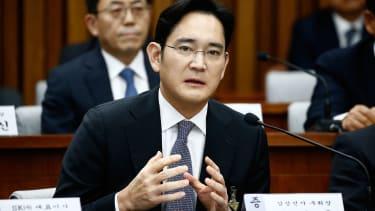 Jay Y. Lee, vice chairman of Samsung