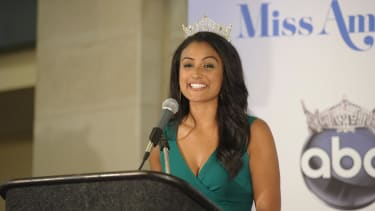 Miss America: 'Being smart is cool'