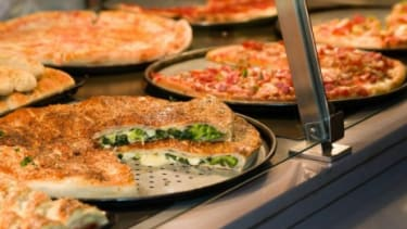 Sbarro pizza at the Crabtree Valley Mall in Raleigh, N.C.: The fast food chain is trying to refine its rather pedestrian food court fare.