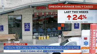 Oregon battles COVID-19 uptick