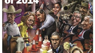 Take a look back at 2014 on this week's cover of The Week magazine