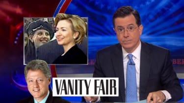 Stephen Colbert gleefully tackles Fox News' Hillary Clinton-Monica Lewinsky conspiracies