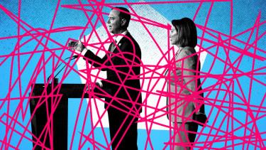 Adam Schiff and Nancy Pelosi.