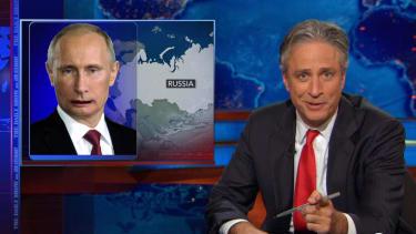 Jon Stewart breezily truth-squads Russia and U.S. conservatives on Flight 17