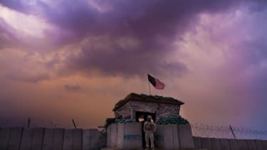 A U.S. Marine in southern Afghanistan in 2011.