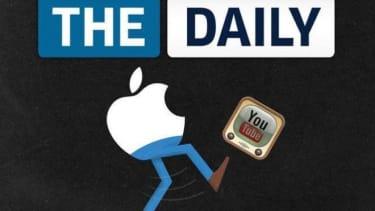 The Daily's Aug. 8 cover: Rupert Murdoch's iPad experiment has officially failed.