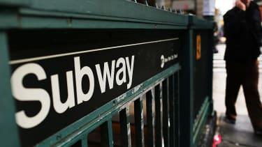 New York City Subway sign.