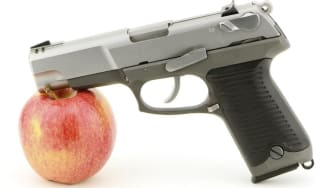 Ohio school district considers storing guns in case of shootings