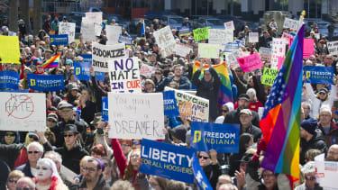Opponents of Indiana Senate Bill 101