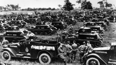 World War II tested the U.S. deficit limit.