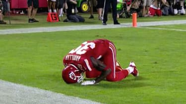 Football referees penalize Muslim player for post-touchdown prayer
