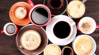 Delicious, delicious coffee.