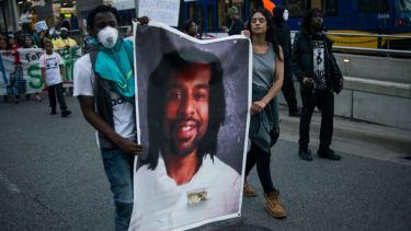 Minnesota protest over the Philando Castile case verdict